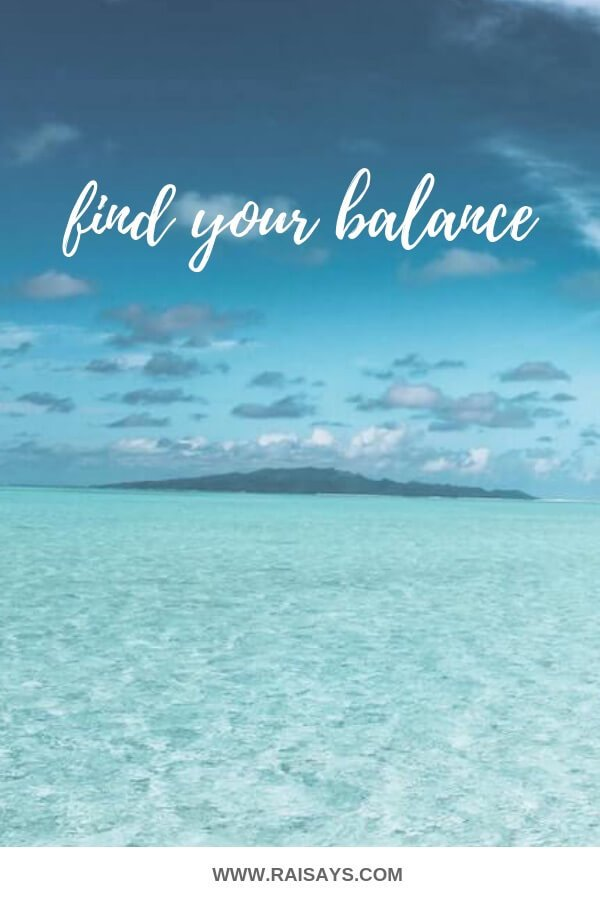 find your balance after a breakup